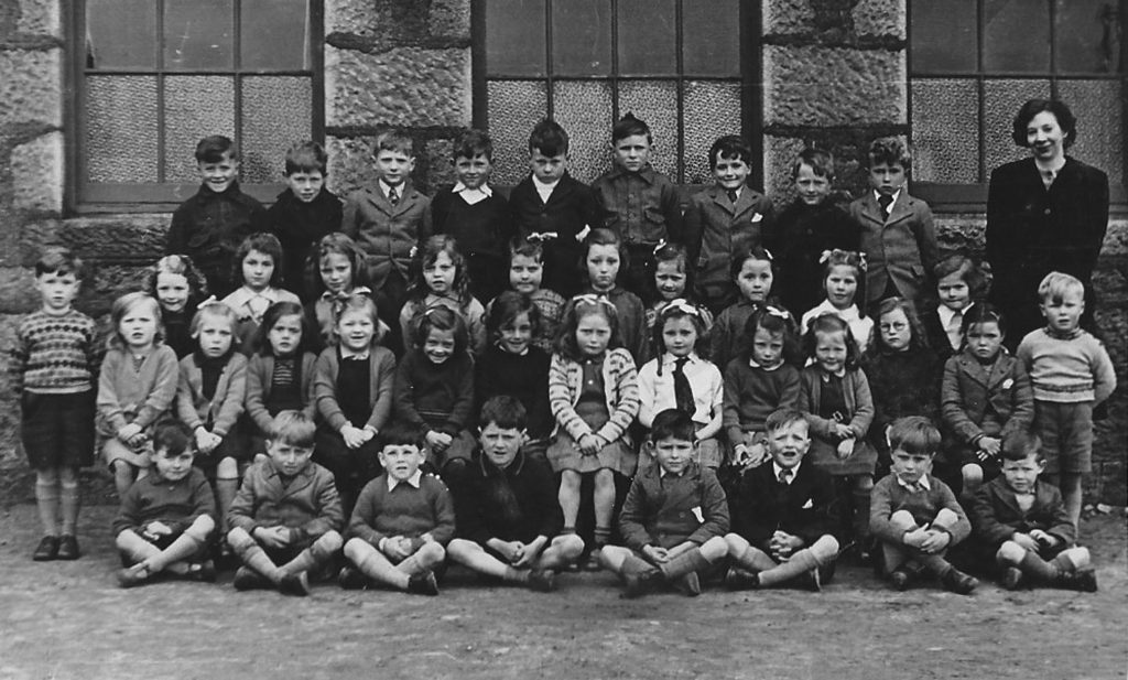 1947 class at Portlethen Primary School